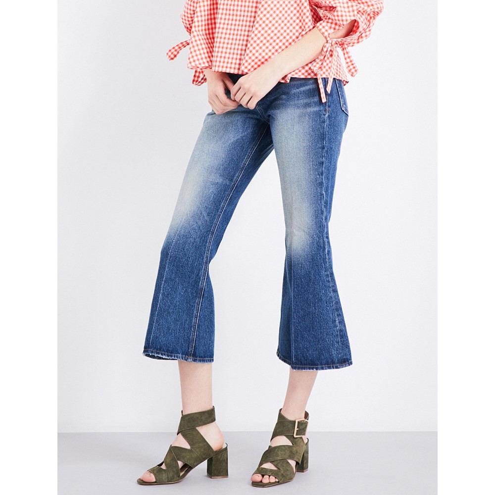 フレーム frame レディース ボトムス ジーンズ【le crop high-rise flared jeans】Jagger