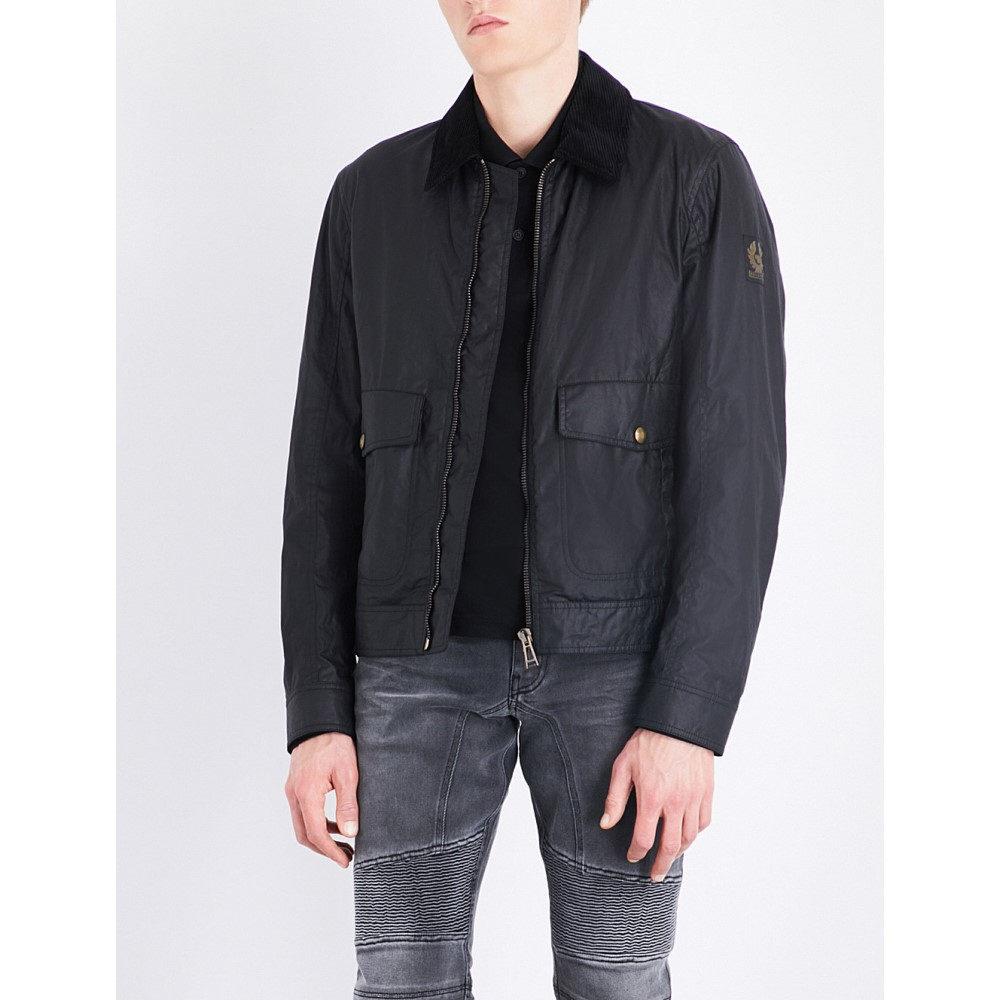 ベルスタッフ belstaff メンズ アウター ジャケット【mentmore blouson cotton jacket】Black:フェルマート