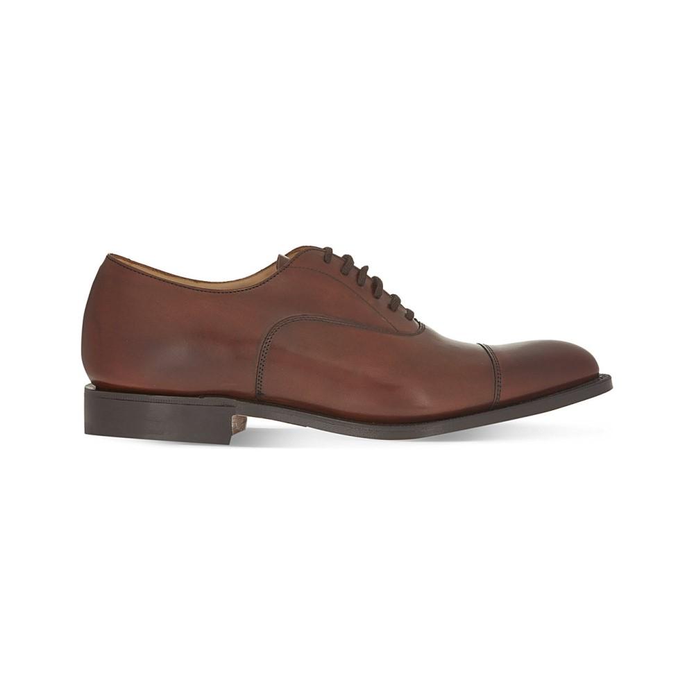 チャーチ church メンズ シューズ・靴 ビジネスシューズ【dubai oxford shoes】Mid brown:フェルマート