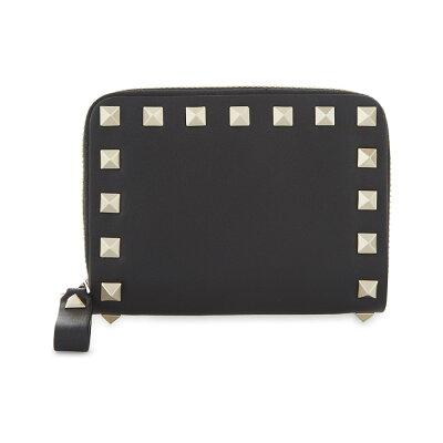 fb68dfb118e9 ヴァレンティノ レディース 財布【rockstud mini zip around leather ...