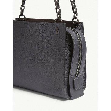 コーチ レディース バッグ ショルダーバッグ【rogue leather shoulder bag】Bp/midnight navy