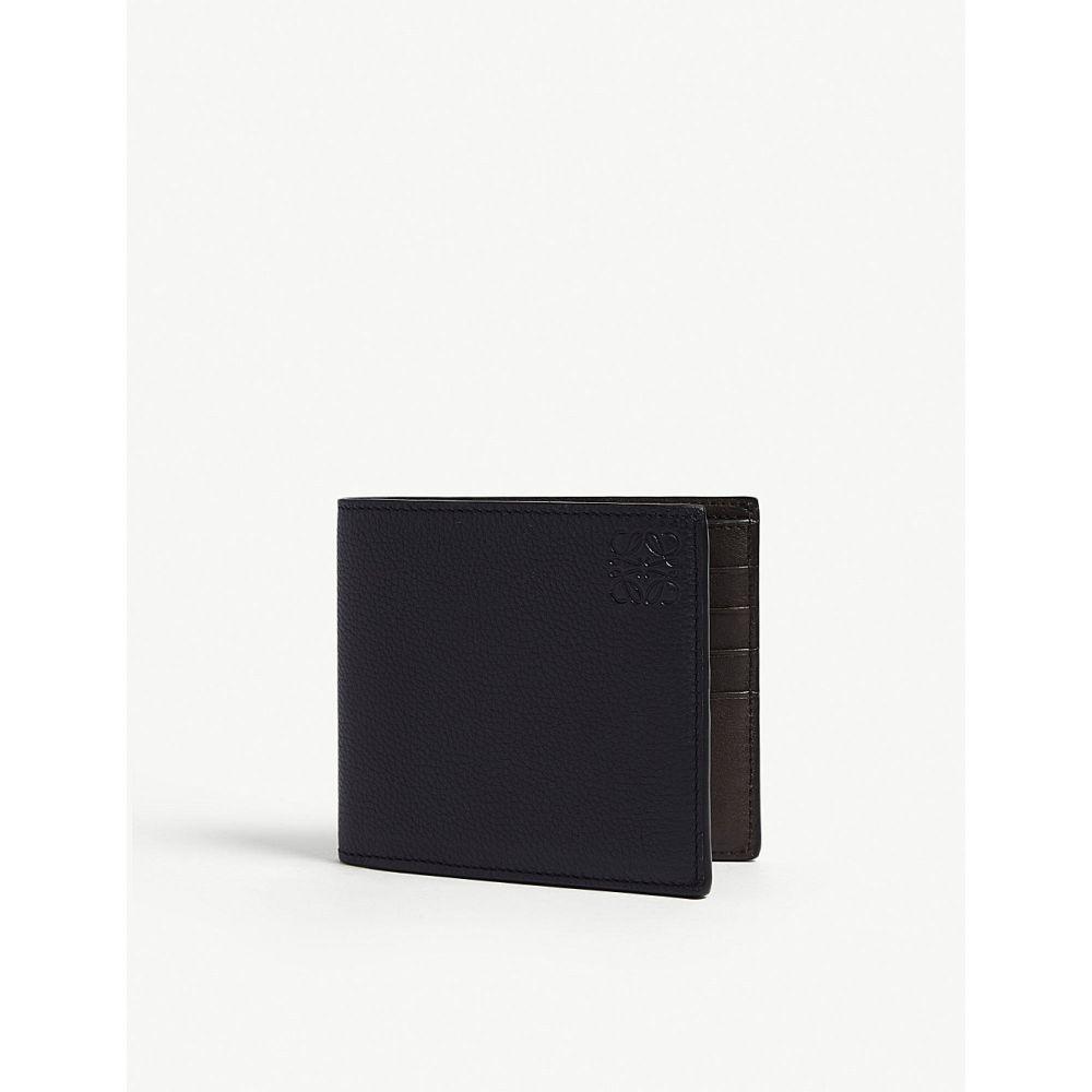 dce81ef18c99 ロエベ メンズ 財布【loewe 2tone billfold】Black blue ロエベ メンズ 財布・時計・雑貨 財布 【サイズ交換無料】