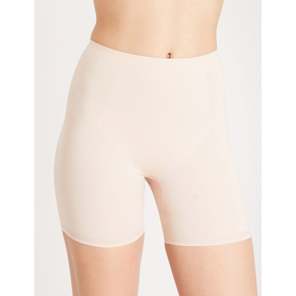 スパンクス レディース インナー・下着【thinstincts mid-thigh stretch-jersey shorts】Soft nude