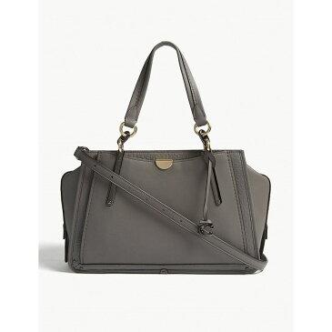 コーチ coach レディース バッグ ショルダーバッグ【leather shoulder bag】Dk/heather grey