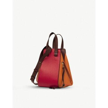 ロエベ loewe レディース バッグ ハンドバッグ【hammock small leather handbag】Ginger/rouge