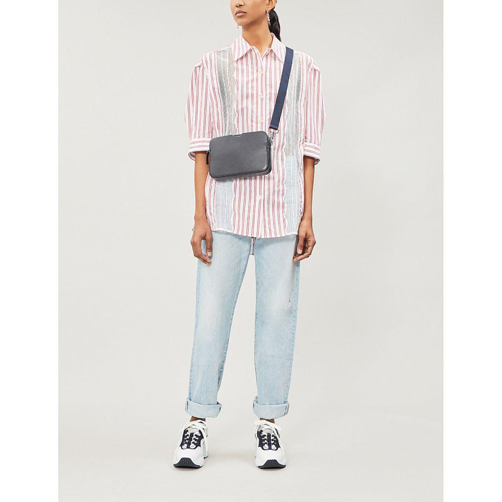 サンドロ sandro レディース トップス ブラウス・シャツ【alexia striped cotton shirt】Red