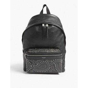 イヴ サンローラン saint laurent メンズ バッグ バックパック・リュック【city leather backpack】Black