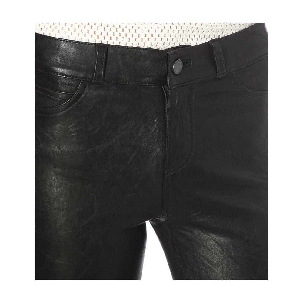 ペイジ PAIGE レディース ボトムス・パンツ ジーンズ・デニム【Hoxton skinny high-rise leather jeans】Black
