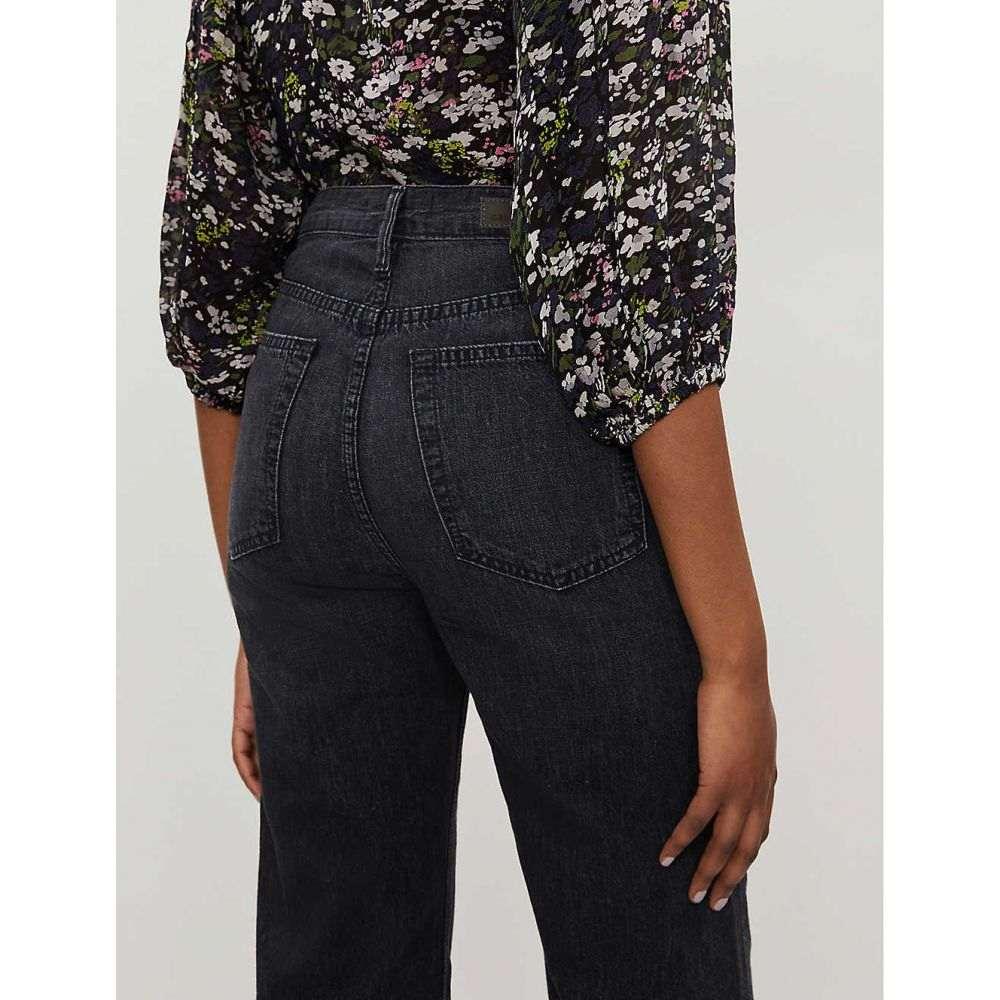 ガールフレンズ GRLFRND レディース ボトムス・パンツ ジーンズ・デニム【Bobbi cropped high-rise jeans】On the road