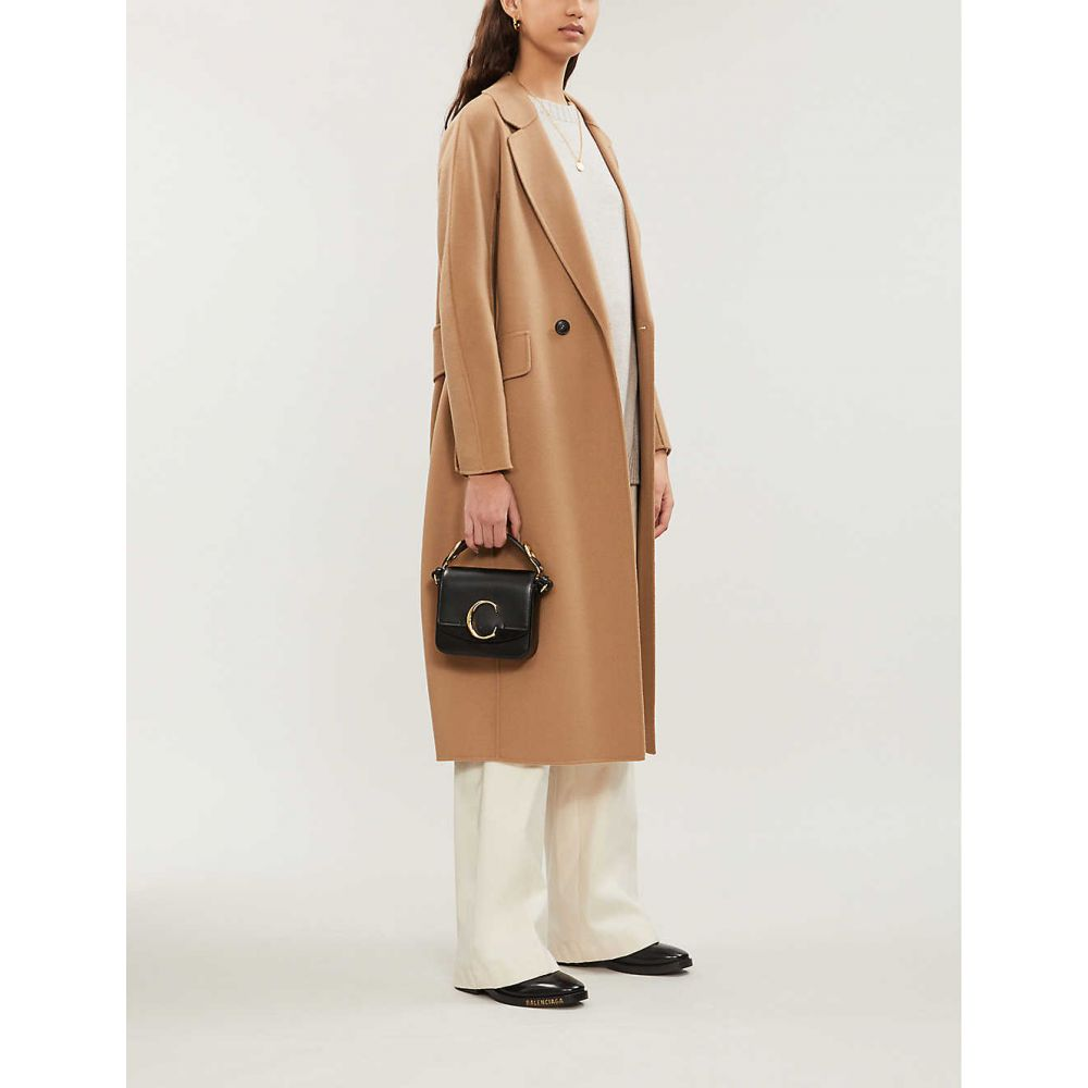 マックスマーラ S MAX MARA レディース アウター コート【Cardi double-breasted wool coat】Camel