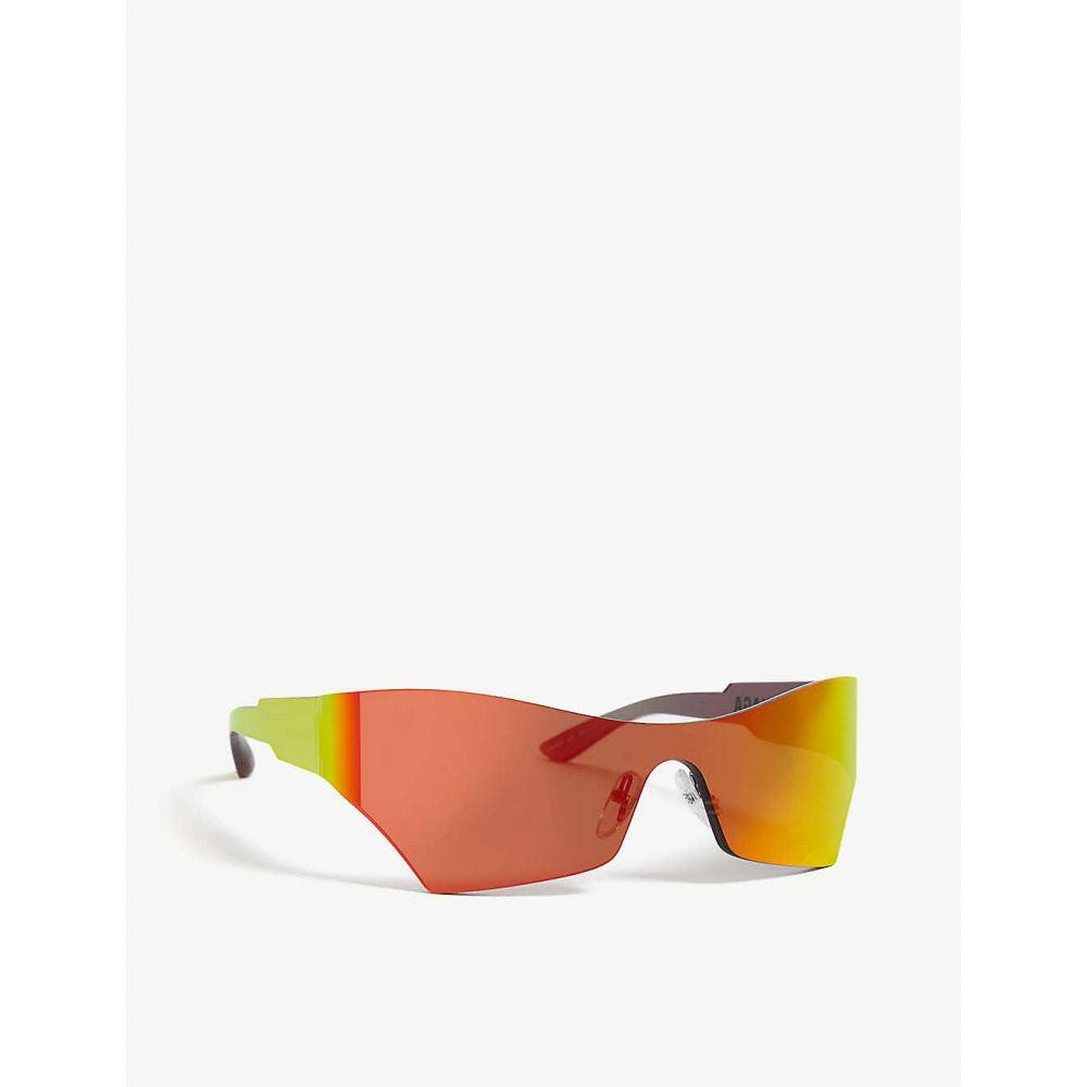 バレンシアガ BALENCIAGA レディース メガネ・サングラス【BB0040S cat-eye sunglasses】Yellow