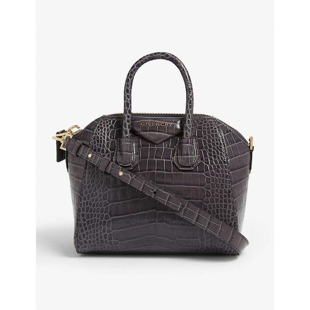 ジバンシー GIVENCHY レディース バッグ トートバッグ【Antigona mini leather tote bag】Storm grey