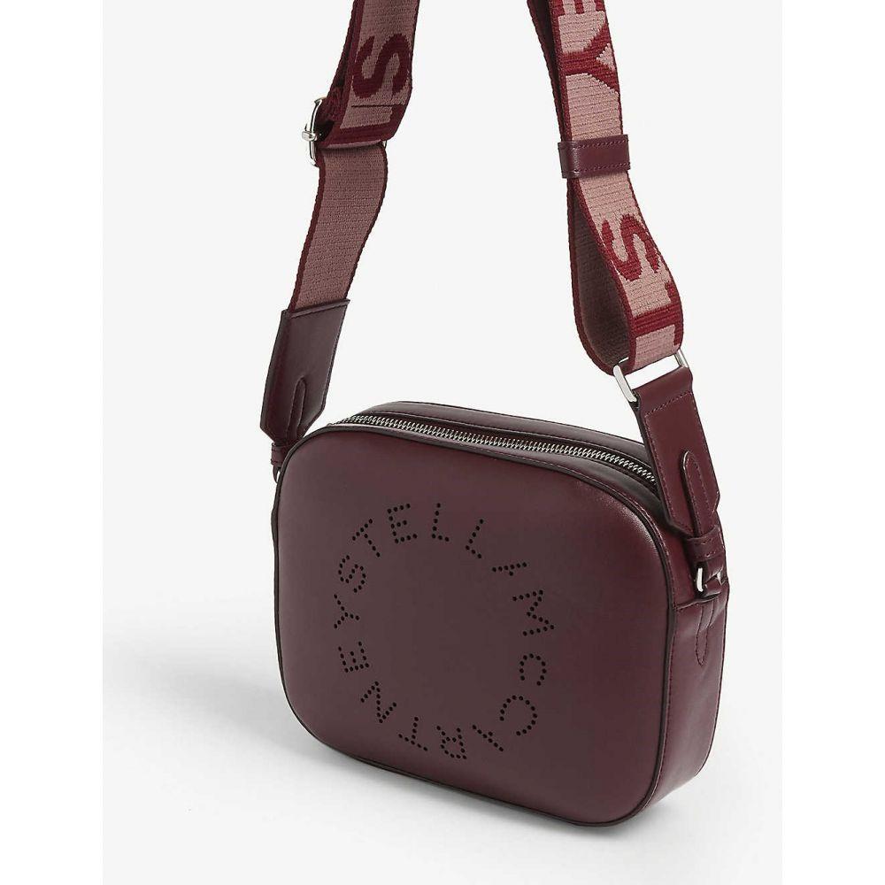 ステラ マッカートニー STELLA MCCARTNEY レディース バッグ ショルダーバッグ【Circle logo cross-body bag】Wine