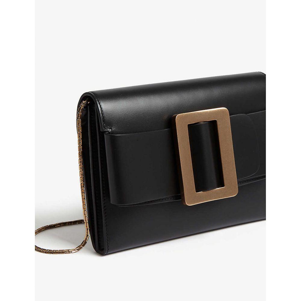 ボーイ BOYY レディース バッグ ショルダーバッグ【Buckle leather travel case】Black gld