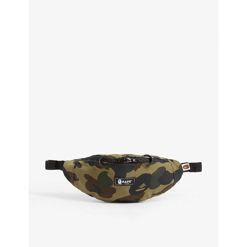 A Bathing Ape bag A BATHING APE Camouflage print...