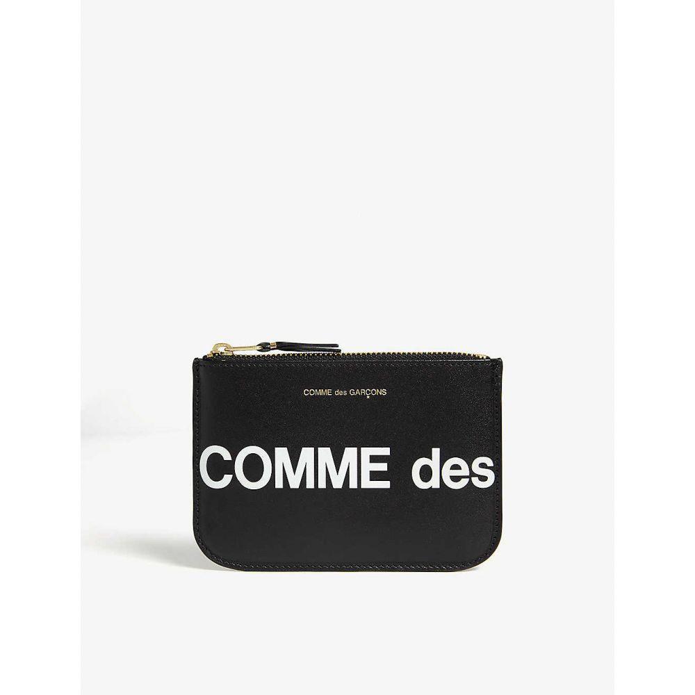 財布・ケース, メンズ財布  COMME DES GARCONS Logo leather pouchBlack