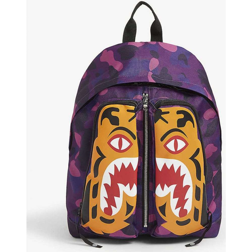 A Bathing Ape backpack A BATHING APE Tiger Camo ...