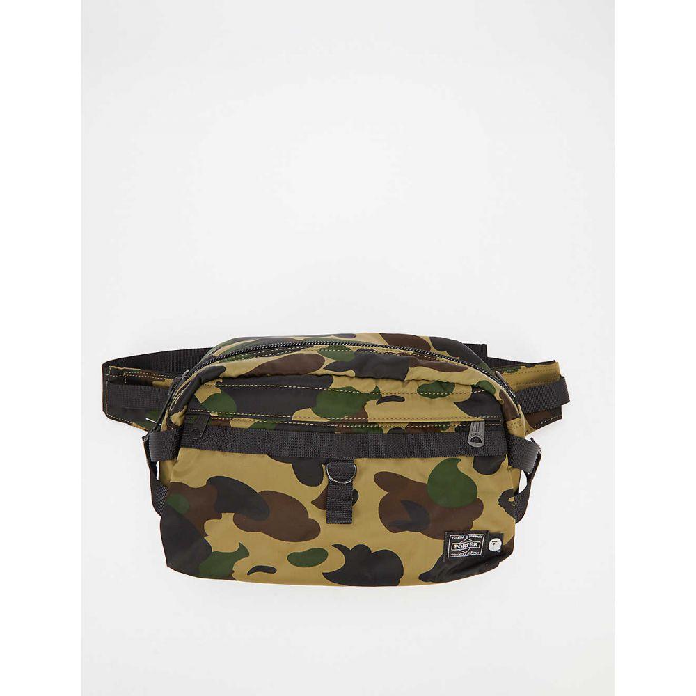 A Bathing Ape bag A BATHING APE Camouflage-print...