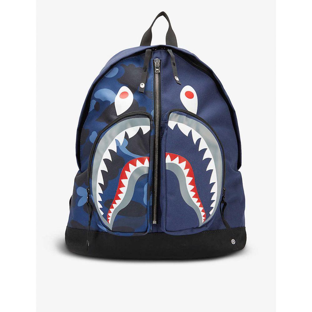 A Bathing Ape bag A BATHING APE Camo Shark brand...