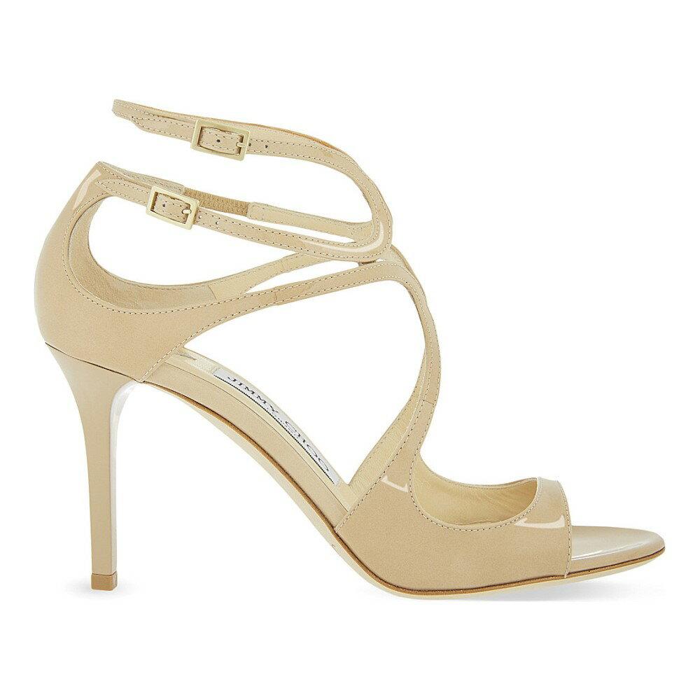 ジミー チュウ jimmy choo レディース シューズ・靴 サンダル【ivette 85 patent-leather heeled sandals】Nude:フェルマート