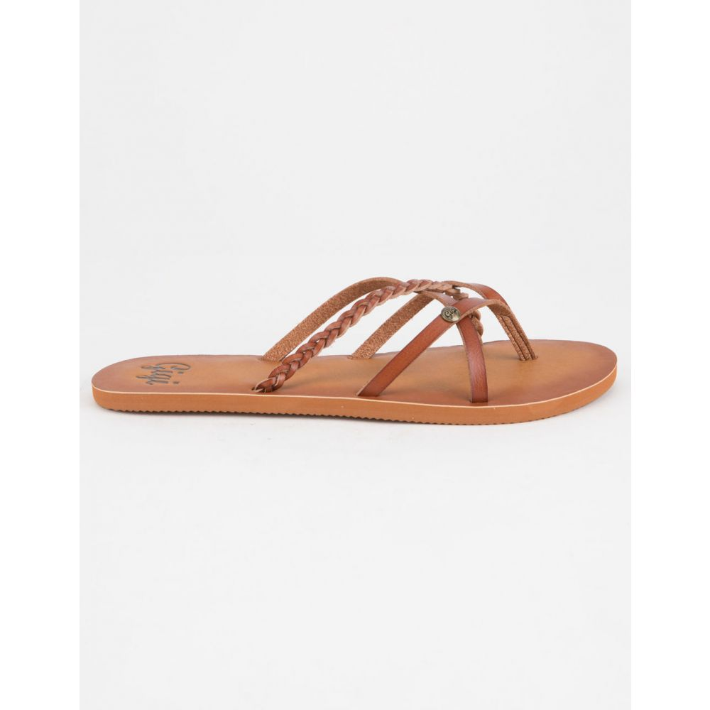 ザ ジジ GIGI レディース シューズ・靴 サンダル・ミュール【Criss Cross s Sandals】Cognac
