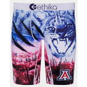 エシカ ETHIKA メンズ インナー・下着 ボクサーパンツ【University Of Arizona Wildcats Boxer Briefs】MULTI