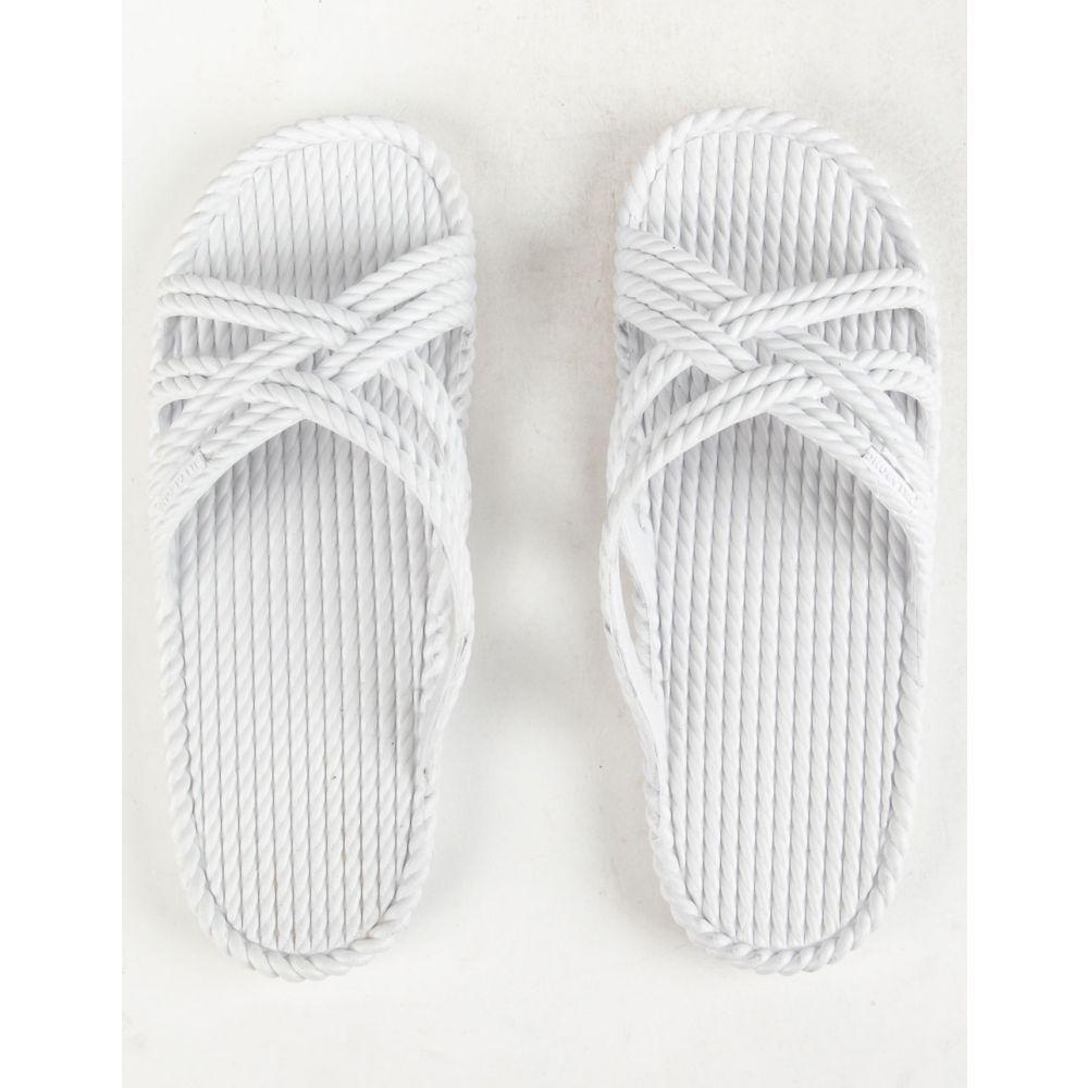ビラボン BILLABONG レディース シューズ・靴 サンダル・ミュール【Slippin Slide White Sandals】WHITE