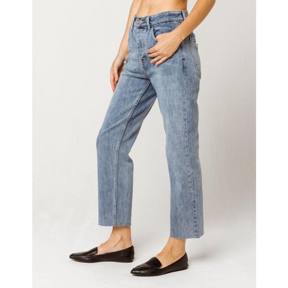 ルーカ RVCA レディース ボトムス・パンツ ジーンズ・デニム【Holli High Rise Straight Leg Jeans】VINTAGE BLUE