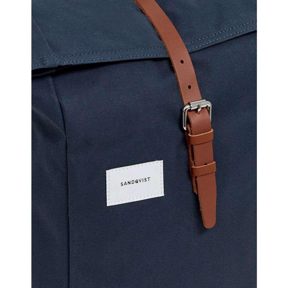 サンドクヴィスト Sandqvist メンズ バッグ バックパック・リュック【Dante rolltop backpack in navy】Navy