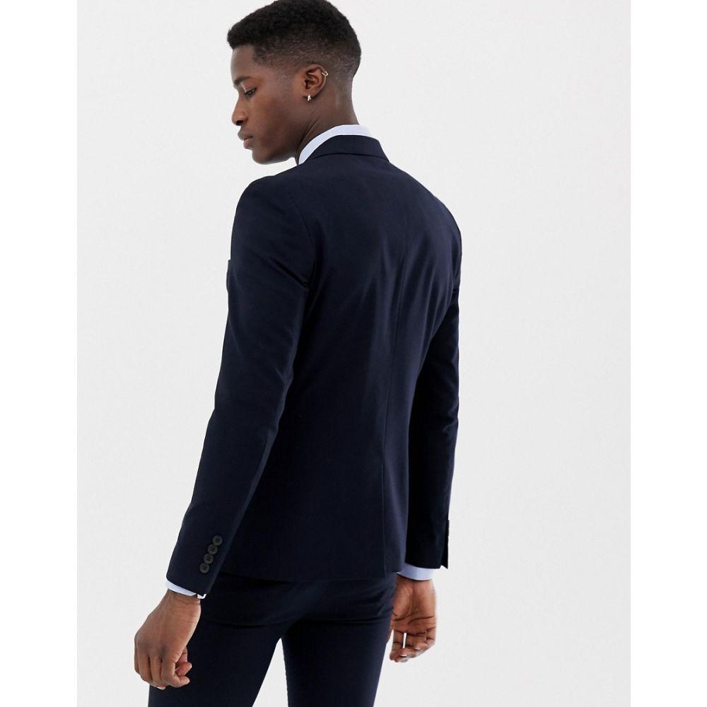 オンリーアンドサンズ Only & Sons メンズ アウター スーツ・ジャケット【skinny suit jacket】Dark navy