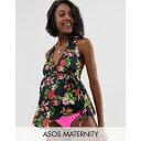 エイソス ASOS Maternity レディース 水着・ビーチウェア ボトムのみ【ASOS DESIGN maternity hipster bikini bottom in neon pink】Neon pink