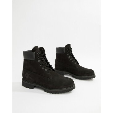 ティンバーランド メンズ シューズ・靴 ブーツ【Timberland Classic 6 Inch Premium Boots】Black