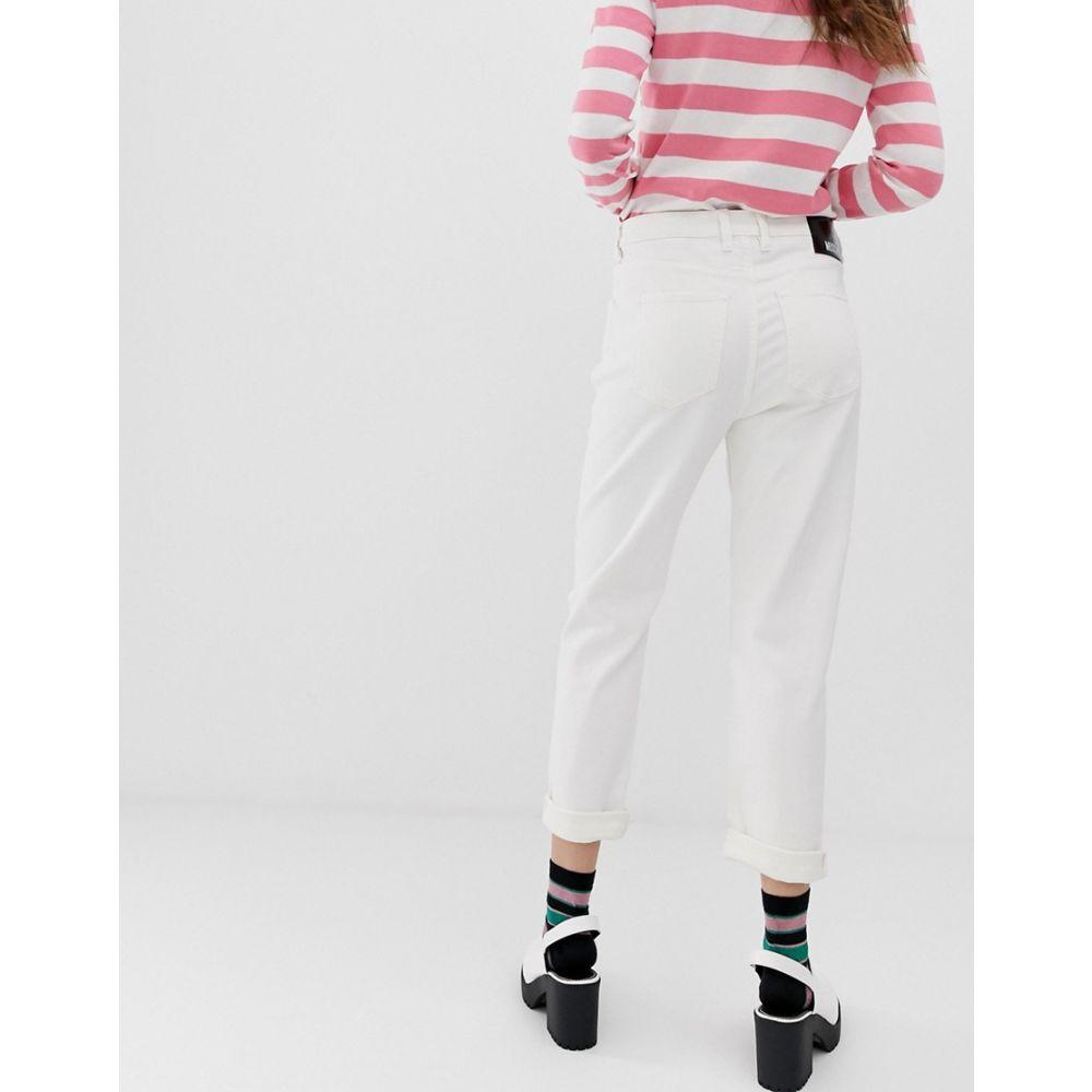 モスキーノ Love Moschino レディース ボトムス・パンツ ジーンズ・デニム【summer white skinny jeans】A white