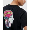 エレメント Element メンズ トップス Tシャツ【Go Skate t-shirt with back print in black】Black