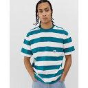 エレメント Element メンズ トップス Tシャツ【Big Heavy t-shirt in blue】Blue