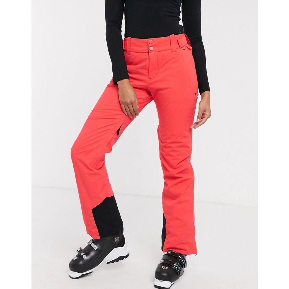 ビラボン Billabong レディース スキー・スノーボード ボトムス・パンツ【Drifter Stx ski trouser in neon pink】Sunset red画像