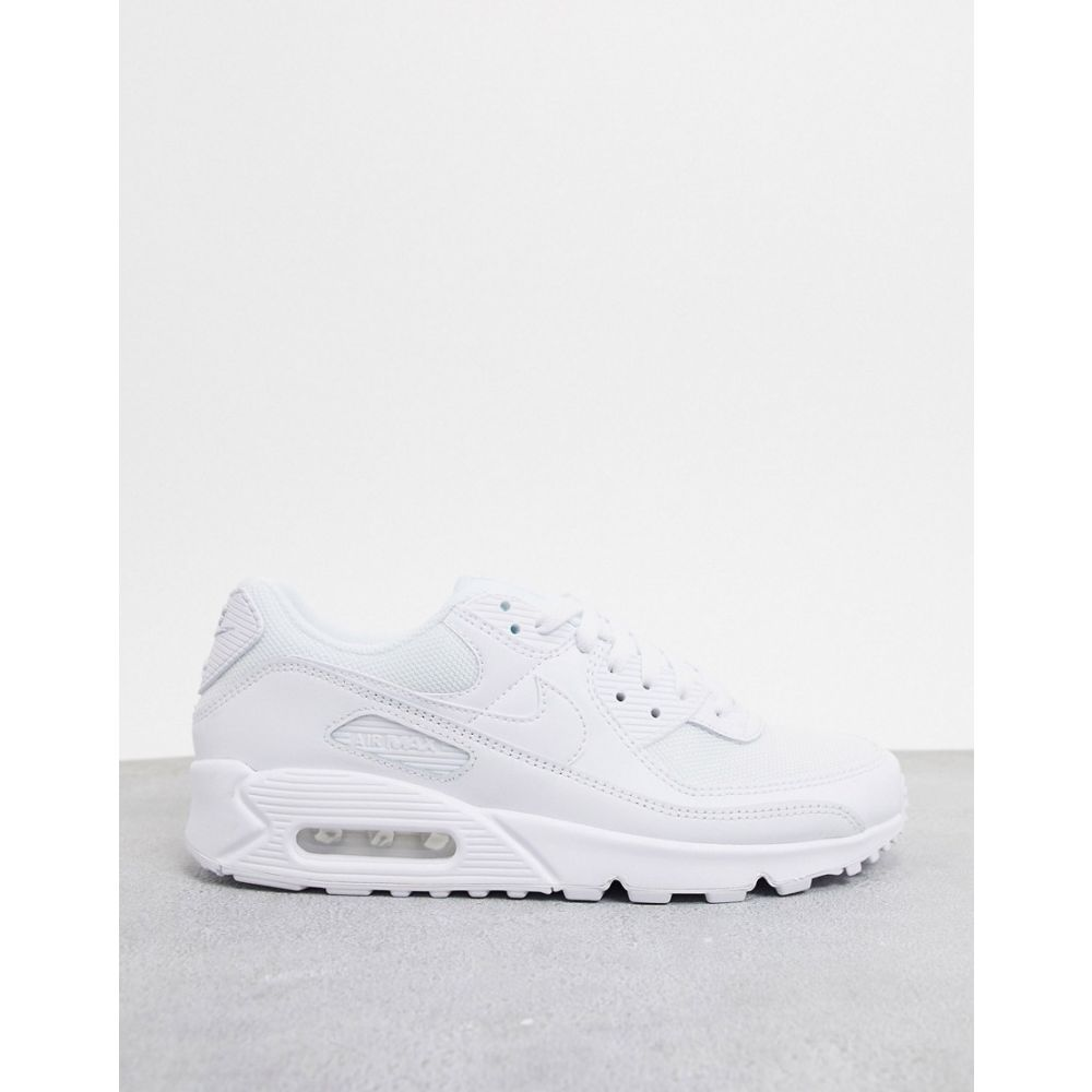 メンズ靴, スニーカー  Nike 90 Air Max 90 Recraft trainers in triple whiteWhite