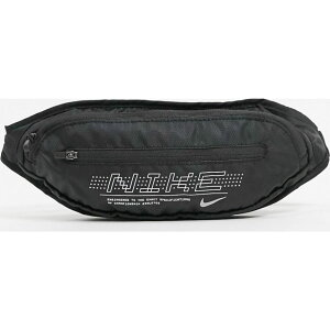 ナイキ Nike メンズ ボディバッグ・ウエストポーチ ウエストバッグ バッグ【Running large waistpack in black with logo print】Black