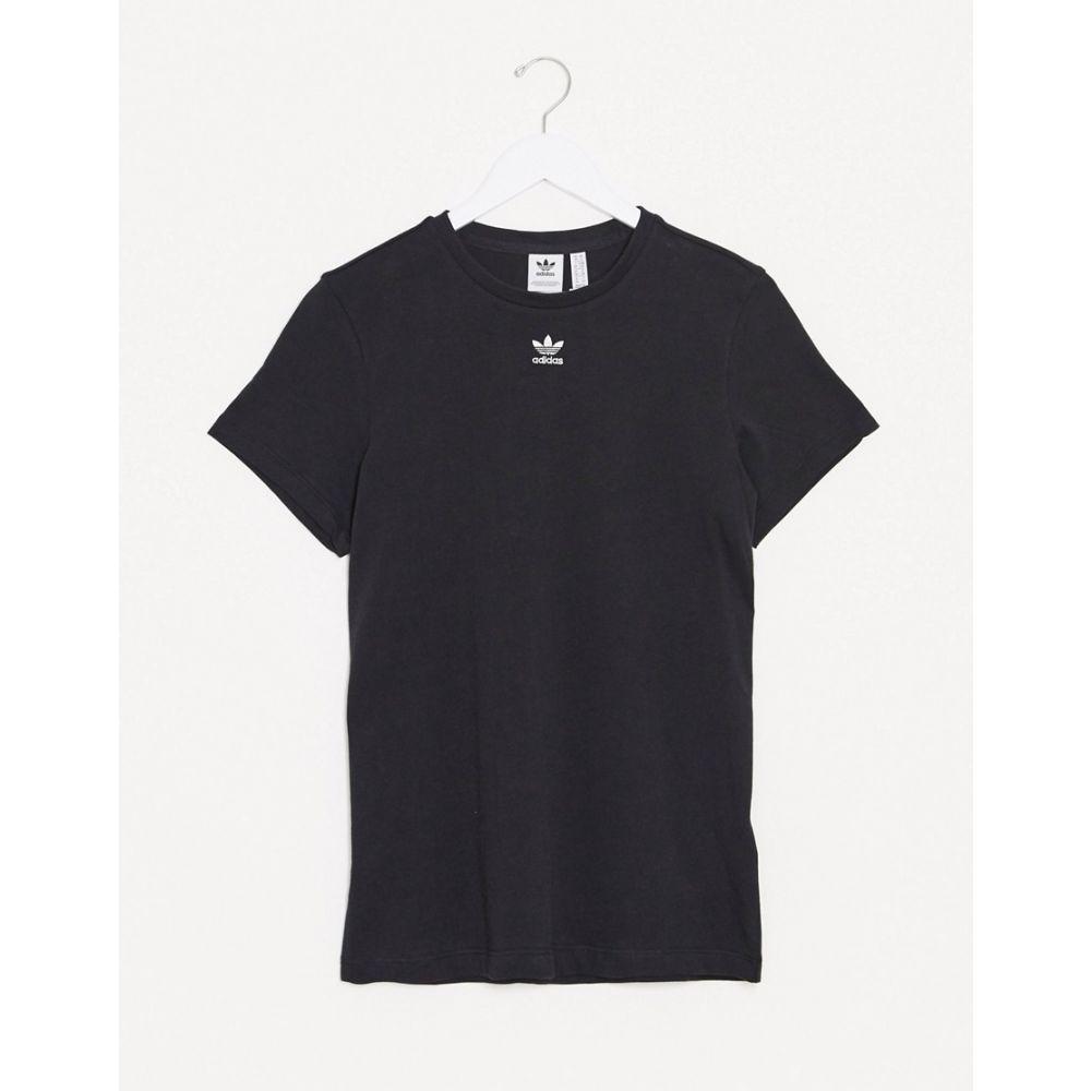 トップス, Tシャツ・カットソー  adidas Originals T Essential t-shirt in blackBlack