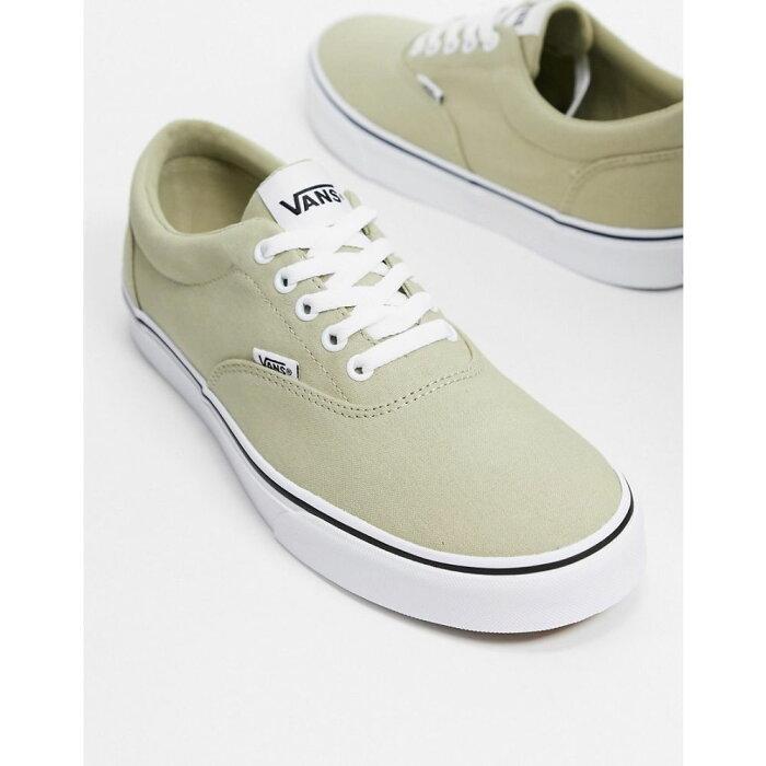 ヴァンズ Vans メンズ スニーカー シューズ・靴【Doheny trainers in eucalyptus/white】Eucalyptus/white
