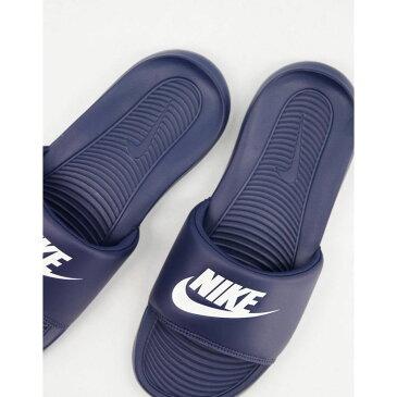 ナイキ Nike メンズ サンダル シャワーサンダル シューズ・靴【Victori One Sliders In Navy】Navy