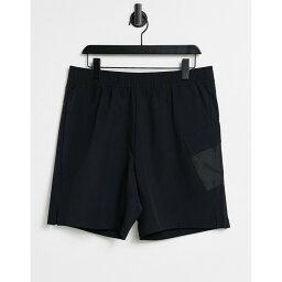 カルバンクライン Calvin Klein メンズ フィットネス・トレーニング ショートパンツ ボトムス・パンツ【Sport Tech Training 7 Inch Woven Shorts】Black