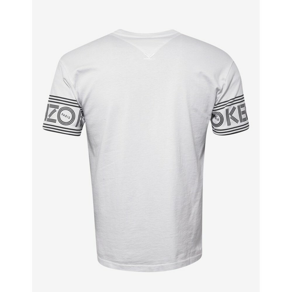 ケンゾー Kenzo メンズ トップス Tシャツ【Logo Sleeve T-Shirt】White
