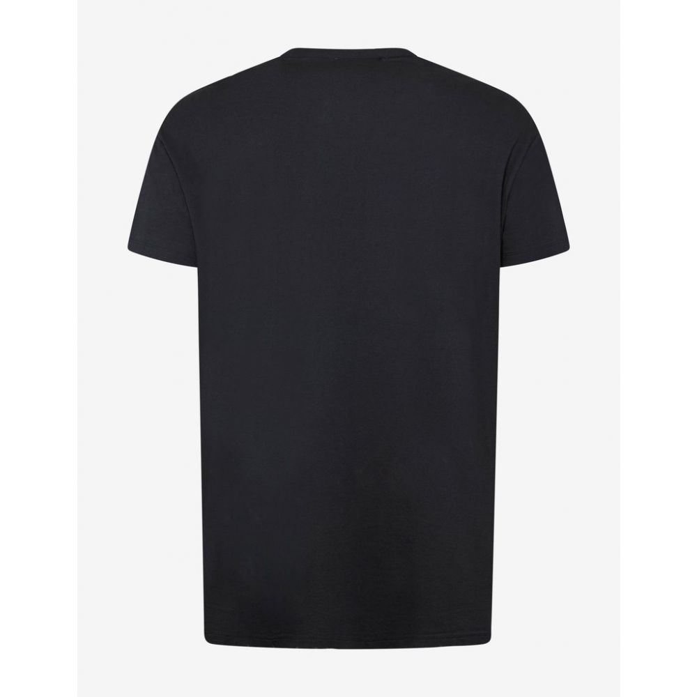 バルマン Balmain メンズ トップス Tシャツ【Black & Red Logo Graphic T-Shirt】Black/Red