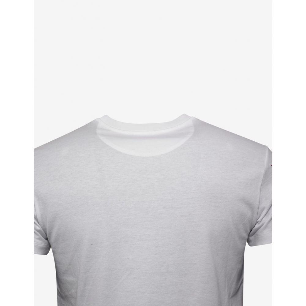 ヴァレンティノ Valentino メンズ トップス Tシャツ【White Logo T-Shirt】White