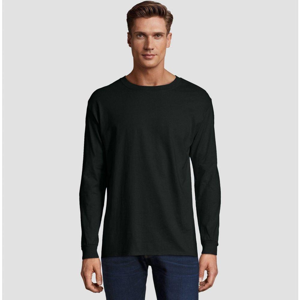 トップス, Tシャツ・カットソー  Hanes T Long Sleeve Beefy T-ShirtBlack