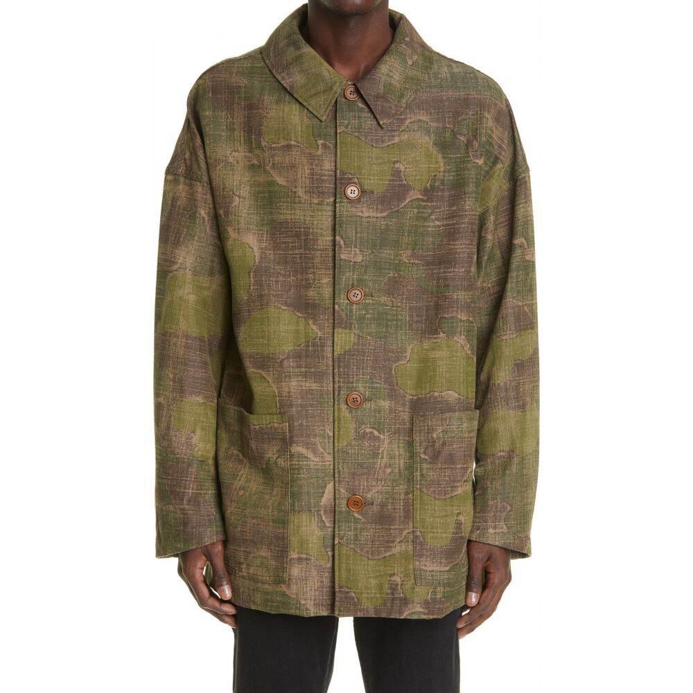 メンズファッション, コート・ジャケット  VISVIM Whiteoak Camo Gabardine OvercoatCamo