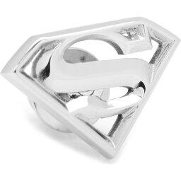 カフリンクス CUFFLINKS, INC. メンズ ラペルピン 【Superman Lapel Pin】Silver