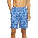 ピーター ミラー PETER MILLAR メンズ 海パン 水着・ビーチウェア【Flippers Up Swim Trunks】Atlantic Blue