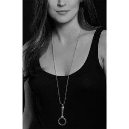 ラゴース LAGOS レディース ネックレス ジュエリー・アクセサリー【Signature Caviar Magnifying Glass Pendant Necklace】Silver